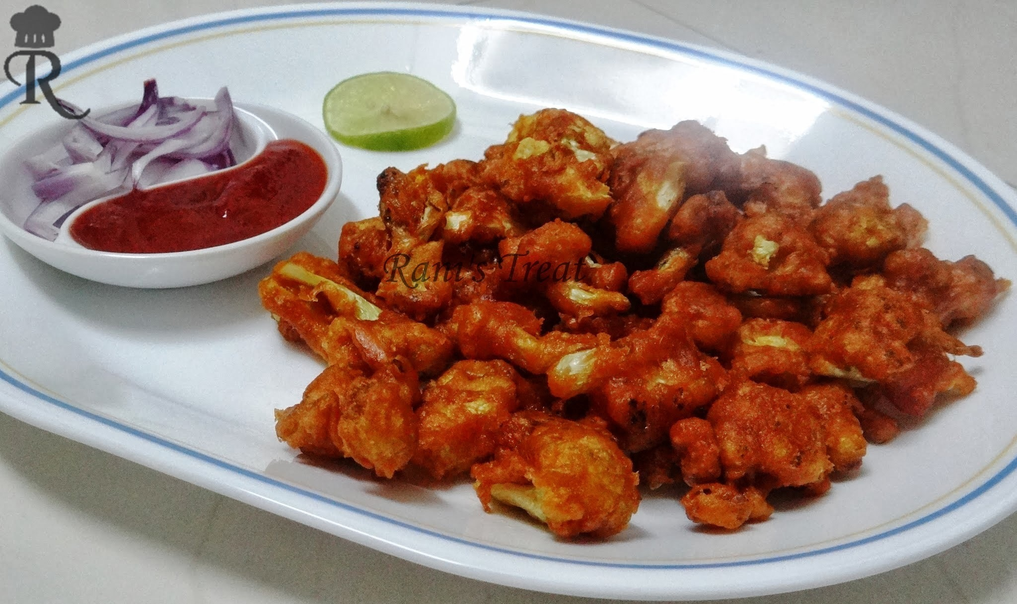 Gobi 65 /Cauliflower 65(Dry)/ Cauliflower Fritters