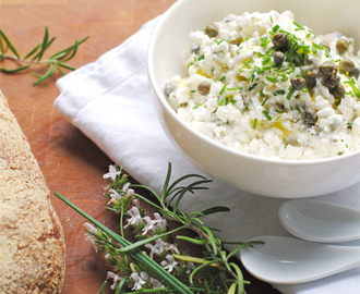 Spread met cottage cheese