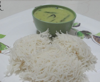 Idiyappam / Sevai (Rice String Hoppers)
