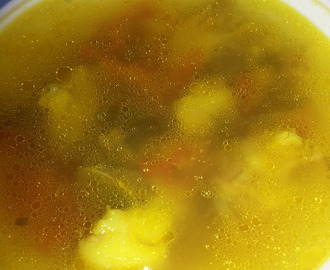 Mutton Bone Soup (Nenjelumbu Soup)