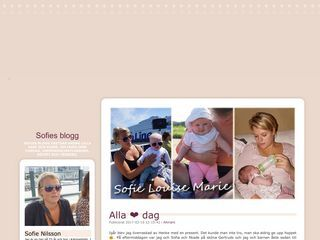 Sofies mammablogg