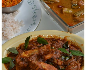 Kerala Style Meen Curry/Pomfret Fish Curry With Malabar Tamarind(no coconut)