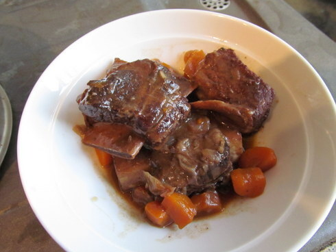 Red Wine Braised Short Ribs of Beef