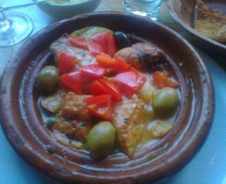 Chicken and Couscous tagine with Chorizo