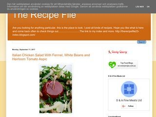 The Recipe File