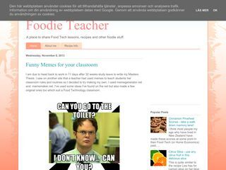 Foodie Teacher