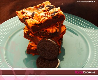 Brownies com Oreos
