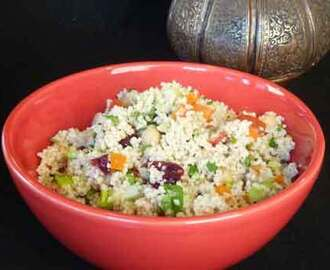 Couscous Salad – Healthy Lunch Recipe
