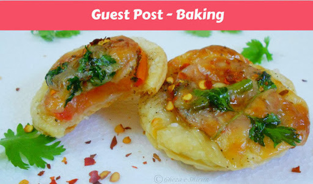 Guest Post 7 - Chicken Curry Tarts