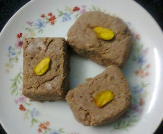 Chocolate Ice cream Sandesh / Party Dessert / Bengali Sweet