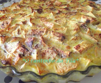 Clafoutis de maçã light