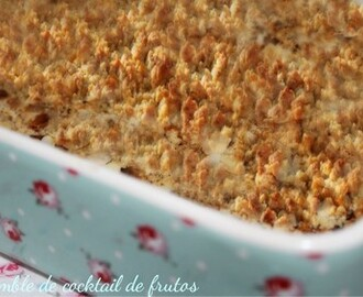 Crumble de cocktail de frutos ♥♥♥