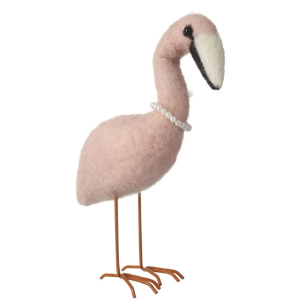 Ull Flamingo dekoration