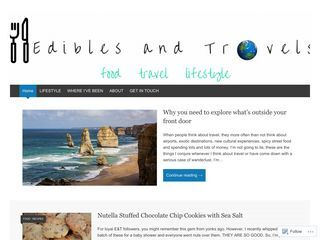 Edibles and Travels