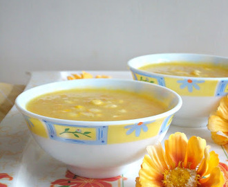Sweet Corn Soup | Light and Healthy Soup Recipe | Vegan Soup