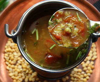 Parruppu Rasam | South Indian Rasam | Lentil Rasam Recipe
