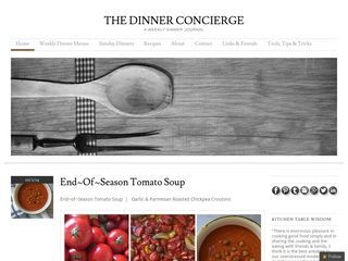 The Dinner Concierge