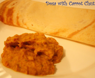 Carrot Chutney ~ a sweet & tangy, healthy treat!