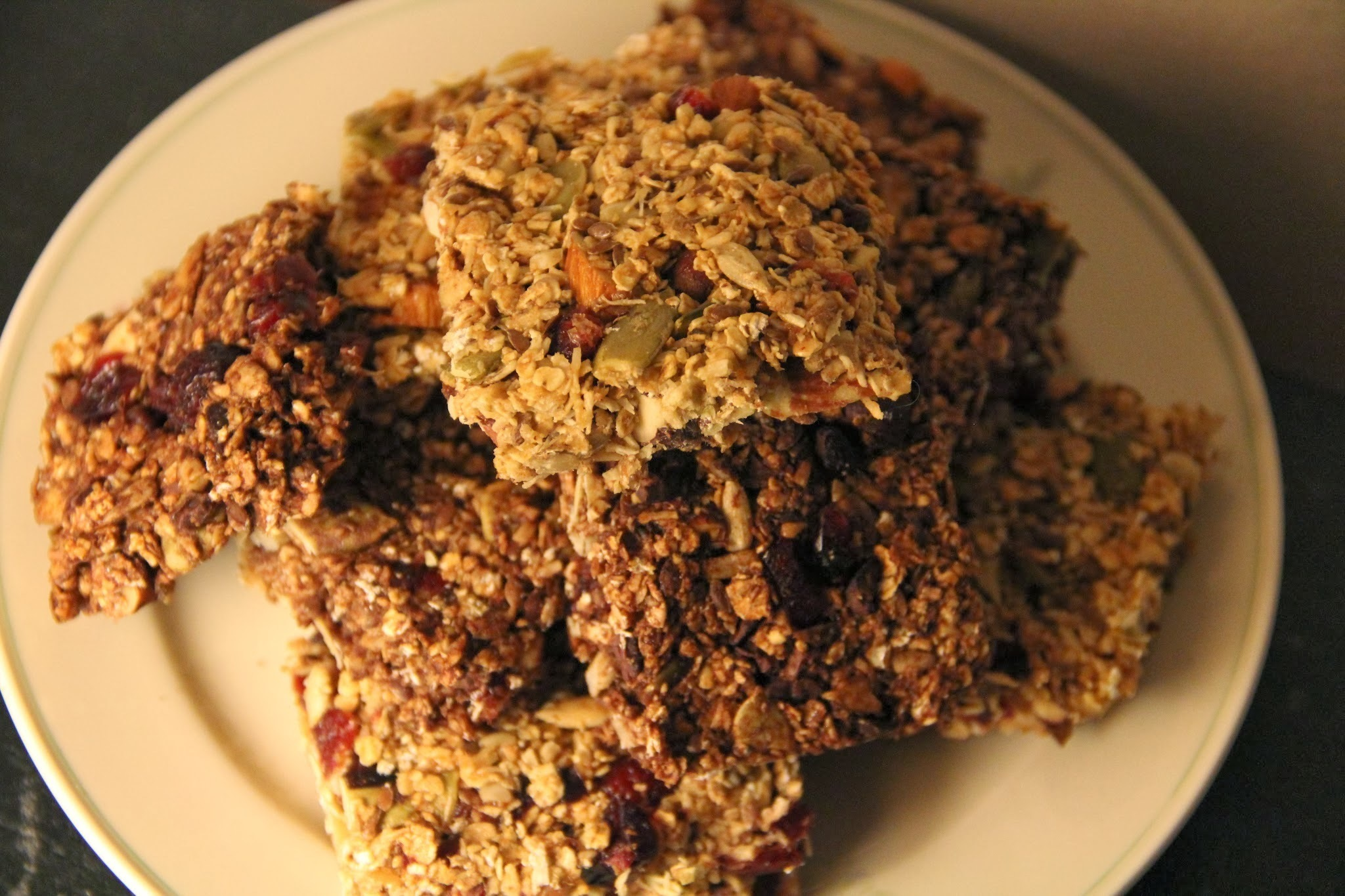 Homemade Müslibars