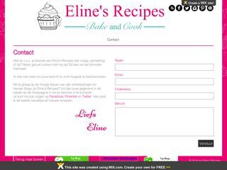 Eline's Recipes