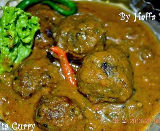 Meat Balls In Spicy Gravy (Guest Post)