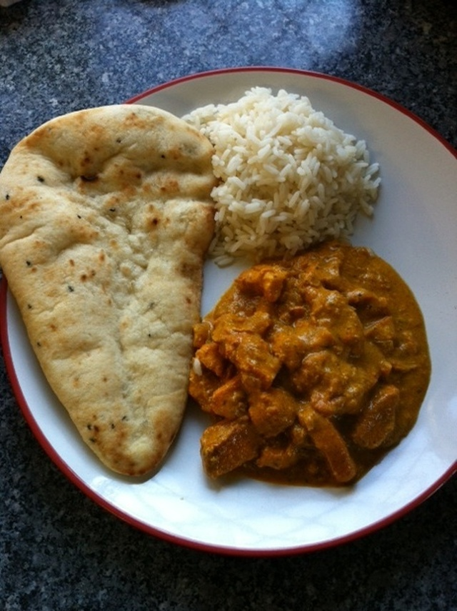 Random recipes - Aromatic chicken curry.