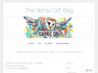 The White Gift Bag