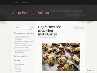 About Food And Fashion | Je dagelijkse dosis food met een snufje fashion