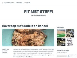 FIT MET STEFFIGet fit and stay healthy