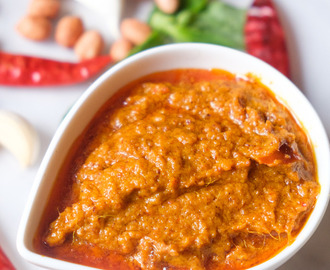 Peanut Sauce For Chicken Satay|Thai Peanut Sauce Recipe