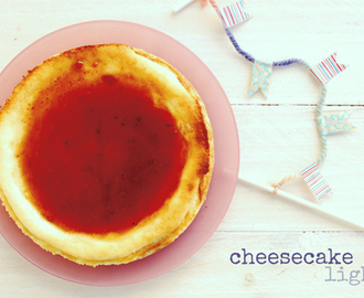 cheesecake light {un año más}