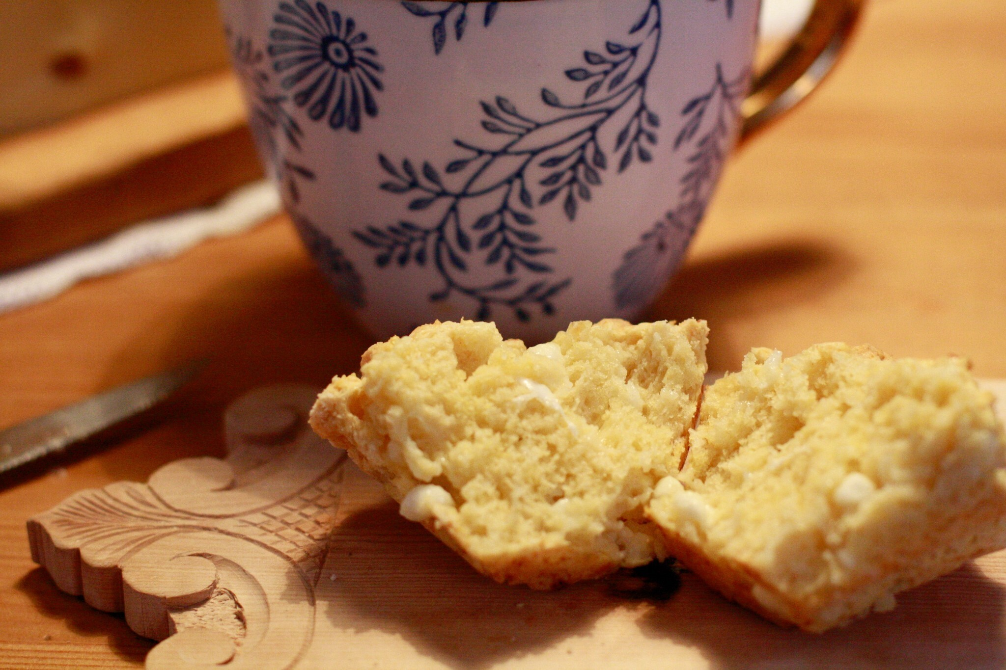 Fine scones med Cottage cheese