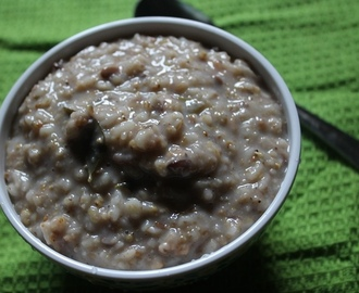 Millets Porridge Recipe / Siruthaniya Kanji Recipe