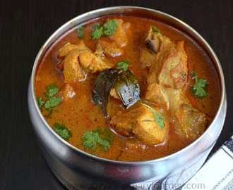 Kodi Kura- Andhra Style Chicken Curry