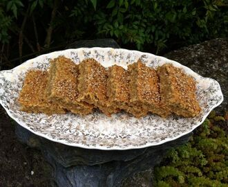 Banana, Coconut & White Chocolate Flapjacks