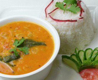 Masala Dal with Onion Tomato Gravy