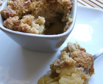 CRUMBLE DE MANZANA - APPLE  CRUMBLE