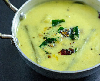 Mixed Vegetable Stew in Coconut & Yogurt sauce (Avial)