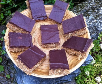 Coconut and Chocolate Vegan Flapjacks