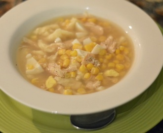Chicken Corn Soup Recipe...