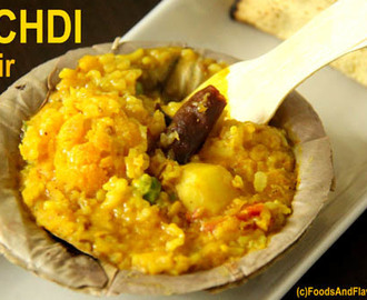 Khichdi Recipe – Moong Dal Khichdi Recipe – Khichadi Recipe