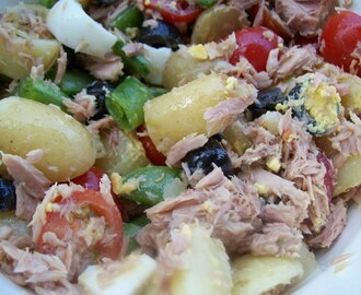Lunch salat og oppskrifts tips