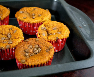 Honey Chocolate Chips Muffin ~ Eggless, Butterless and Sugarless