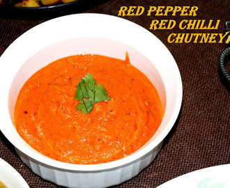 Red Pepper Red Chili Chutney