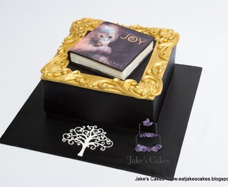 'JOY' - Alex's Book Launch Cake