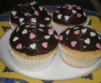 Cupcakes con crema de chocolate. (2º Intento)