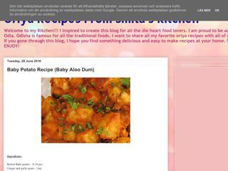 Oriya Recipes From Smita's Kitchen