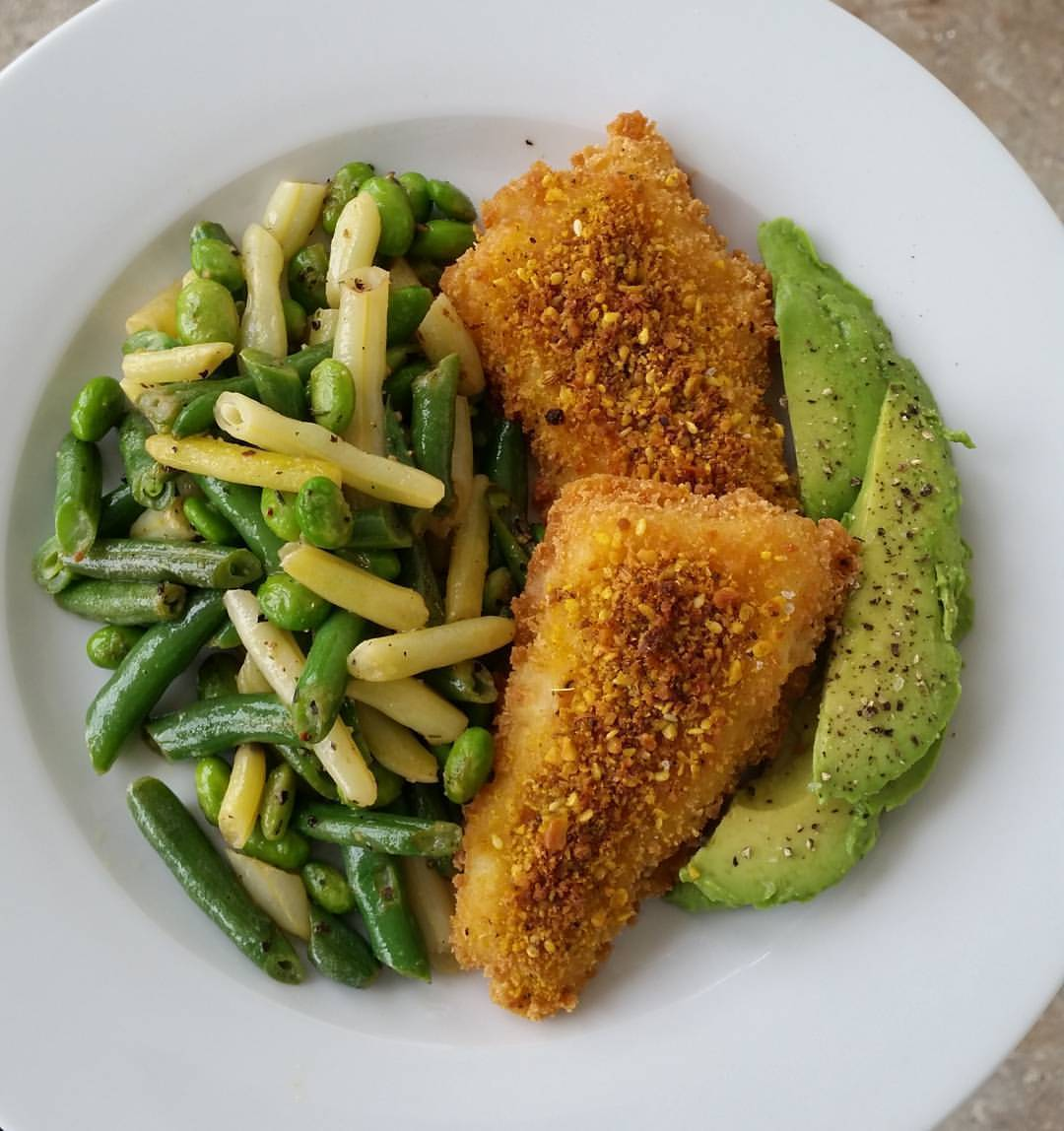 Sealord GF Crumbed Hoki w/added Dukkah for a spice kick,...