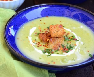 Creamy Peas and Corn Soup