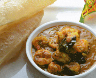 Prawns Cooked in Mustard Curry Sauce Chingudi Besara